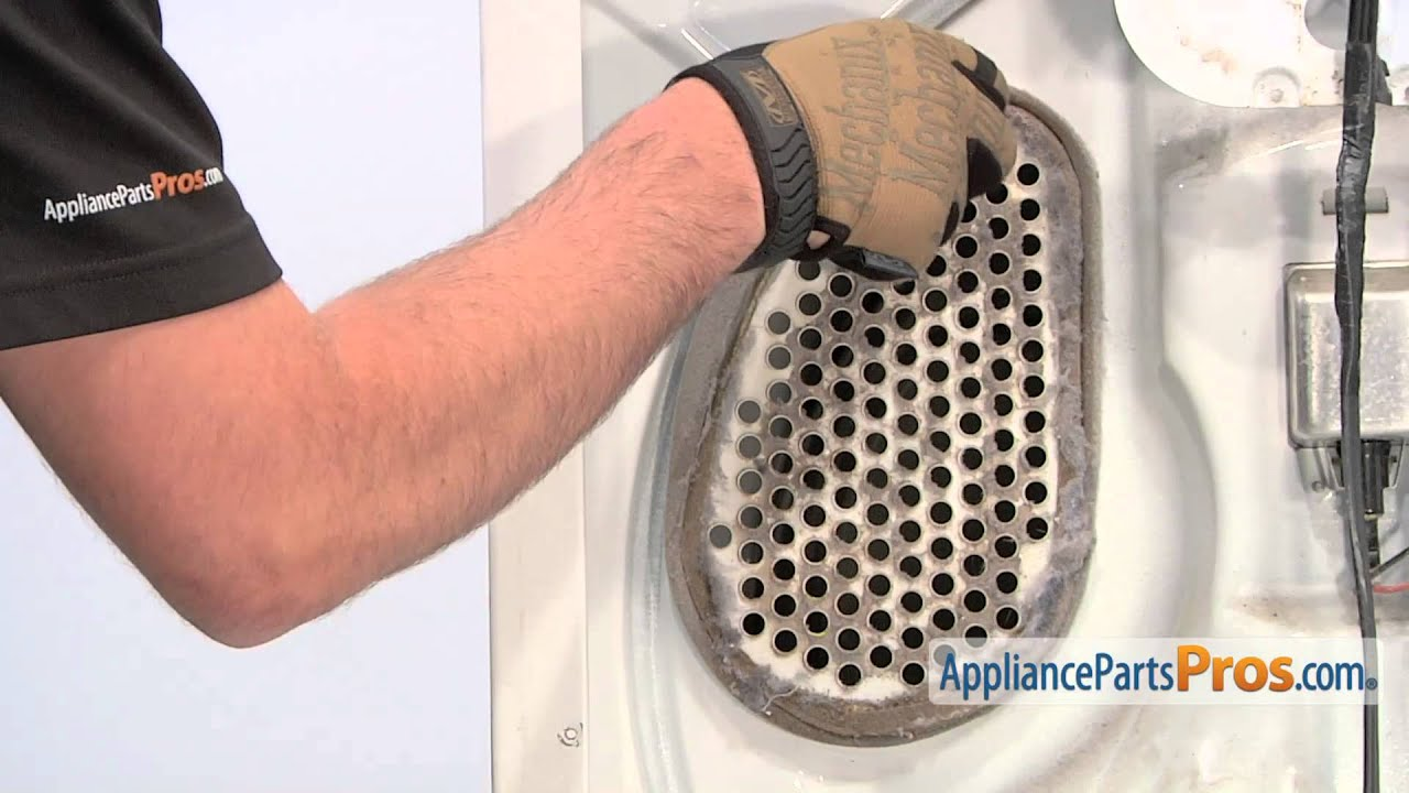 Dryer lint screen housing foam seal part wp339956 how to replace youtube - How to remove lint ...