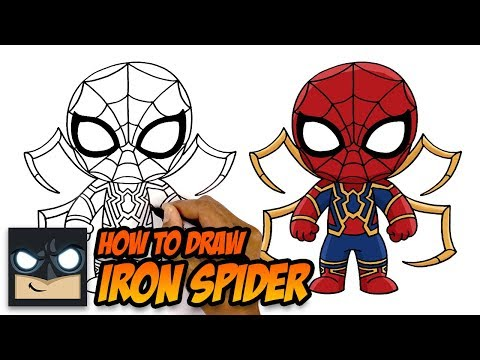 How To Draw Iron Spider | Spiderman Far From Home