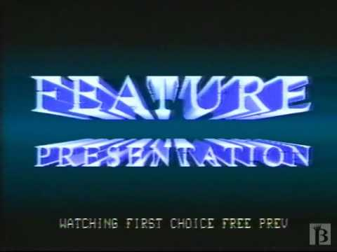 "First Choice Superchannel ""Feature Presentation"" 1984"