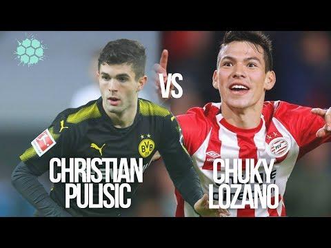 Chucky Lozano vs Pulisic - Apuntes de Rabona