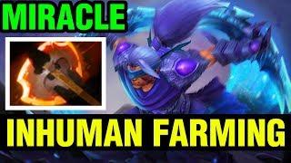 INHUMAN FARMING - MIRACLE- ANTI-MAGE - Dota 2