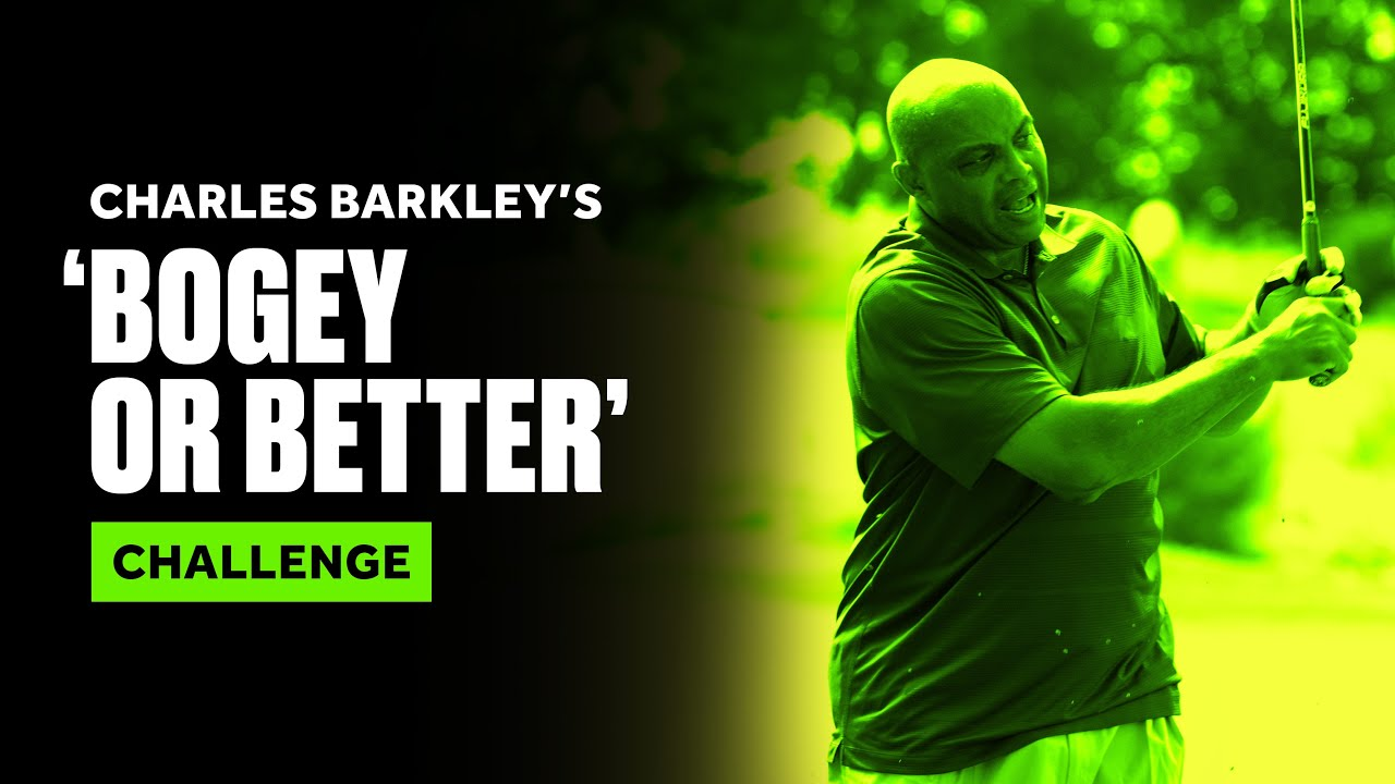 Charles Barkley's 'Bogey or Better' Hole Challenge at Capital One's The Match