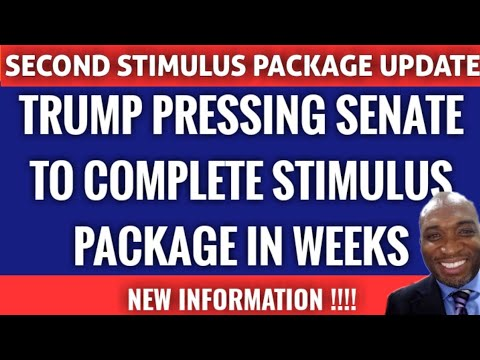 """second-stimulus-check-update:-trump-says-""""very-generous""""-stimulus-check-package-in-weeks"""