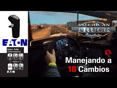 AMERICAN TRUCK SIMULATOR Eaton Fuller 18 Casera Kenworth W900 HD 1080p