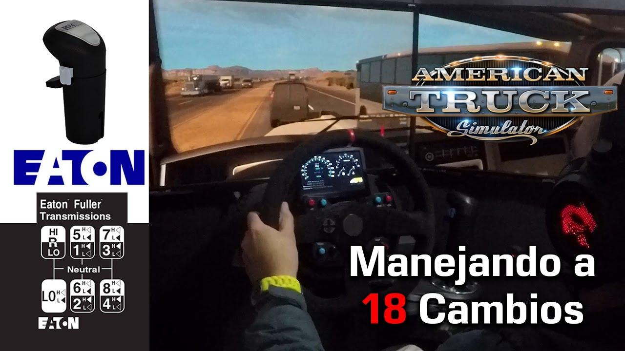 American Truck Simulator Eaton Fuller 18 Casera Kenworth