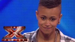 Kayleigh Manners sings Here Comes The Sun and Your Song | Arena Auditions Wk 1 |The X Factor UK 2014