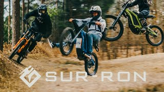 SUR RON X // Trail Ride Film // Electric Bike