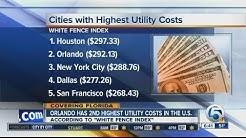 Orlando has 2nd highest utility bills in US