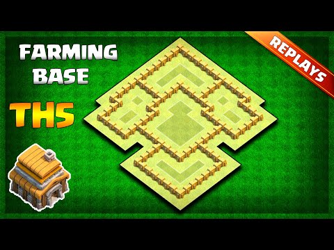 BEST Town Hall 5 (TH5) Farming/Trophy Base Layout 2019 With Replays & Copy Link | Clash Of Clans