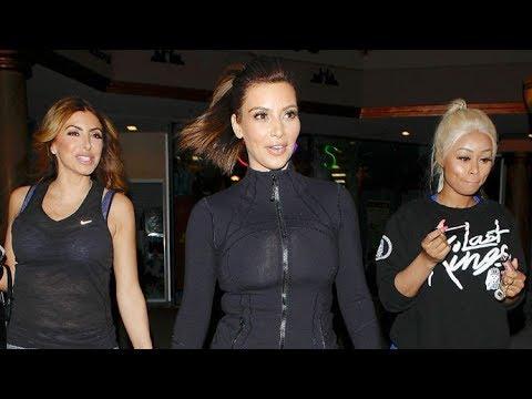 Kim Kardashian Puts Blac Chyna And Larsa Pippen To The Test At Bootcamp [2014]