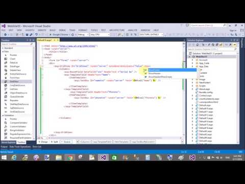 ASp.NET C# Dynamically add rows in gridview PART-1