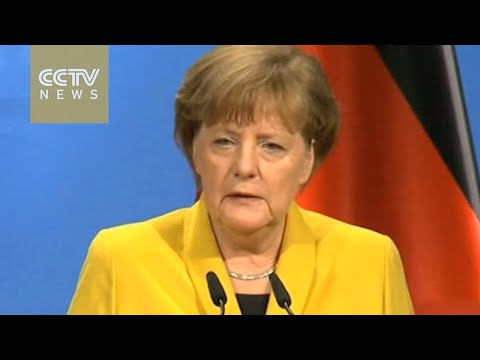 US president arrives in Hannover on free trade push