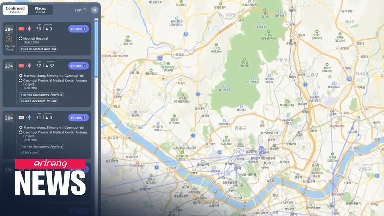 COVID-19 online tracking map available in English and Chinese ...