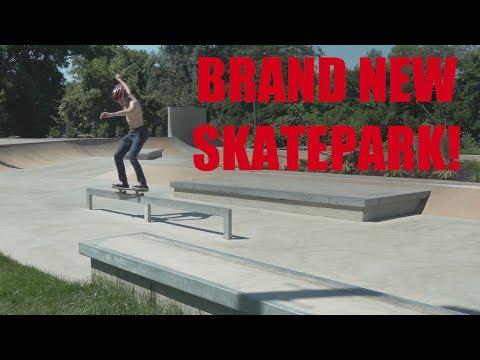 New Concrete Skatepark in Leesburg VA!!!
