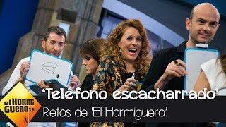 El divertido teléfono escacharrado de dibujos con María Castro y Angy Fernández - El Hormiguero 3.0