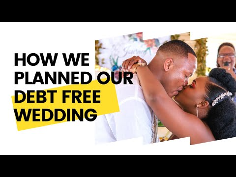 How We Planned Our DEBT FREE Traditional Wedding   Budgeting & Suppliers!