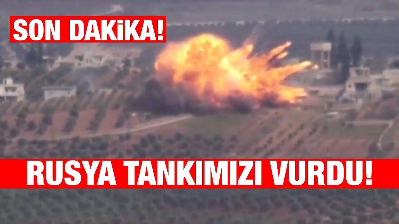 Savaş Kapıda! Rusya Türk Tanklarını vurdu! #sondakika #idlib