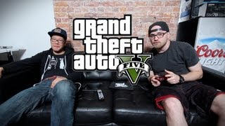 GTA V Gameplay: First 10 Minutes!