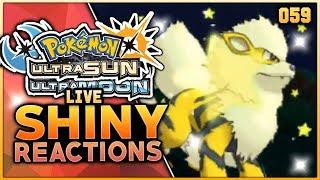 LIVE SHINY ARCANINE REACTION! Pokemon Ultra Sun & Ultra Moon Live Shiny Pokemon Reaction!