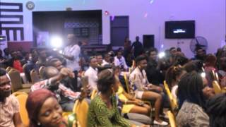 Akpororo performance at face of AIT (campus world magazine gh)