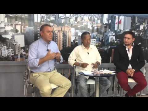 Brand Agudelo ,Richar Rivera y walter pulido magazine