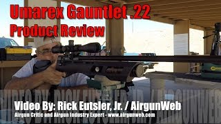 Umarex Gauntlet .22 Review - Regulated, Suppressed, Under $300 are you serious??? - by AirgunWeb
