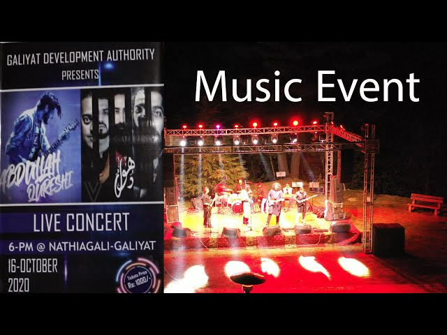 GDA Musical Event in Nathia gali | Dhool and Abdulla Qureshi live event in Nathiagali
