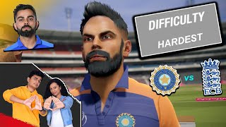 HARDEST MATCH in Cricket 19 | India vs England | SlayyPop