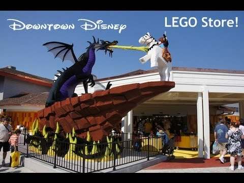 My Trip To LEGO Store at Downtown Disney in ORLANDO FL & Small LEGO ...