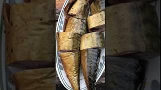 Рыба Скумбрия горячего копчения в коптильне Drevos. Очень вкусно...