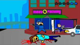 Grand Theft Animated The Ballad of Gay Tony Parody (Grand Theft Auto:TBogT)