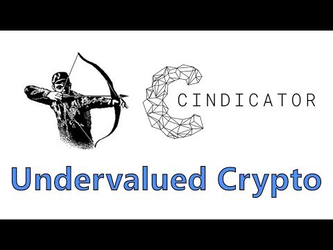 Undervalued Cryptocurrency of November 2017 - Cindicator - Hunting The Coins