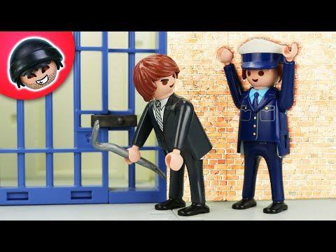 El Presidente bricht aus!   Playmobil Polizei Film   KARLCHEN KNACK #310