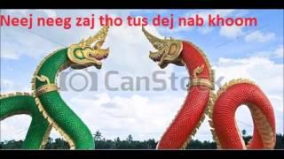 Neej Neeg Zaj Tho Tus Dej Nab Khoom