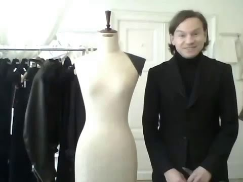 Draping Tutorial by bespoke tailor Sten Martin - HD