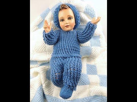 Crochet Traje Niño Jesús Pantalon