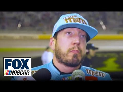 Larry McReynolds and Jamie McMurray react to Kyle Busch's angry interview | NASCAR RACE HUB