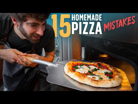15 Mistakes to Avoid When Making Pizza at Home ��