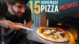 15 Mistakes to Avoid When Making Pizza at Home