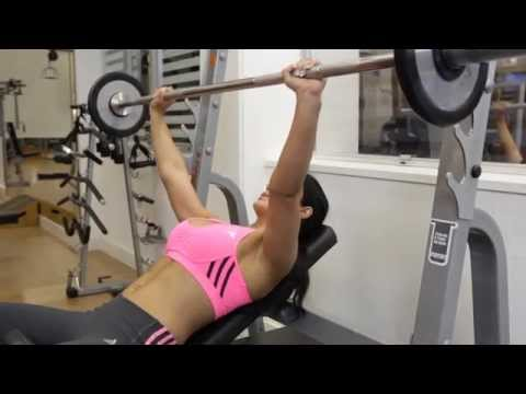 Incline Barbell Bench Press - Chest Exercise