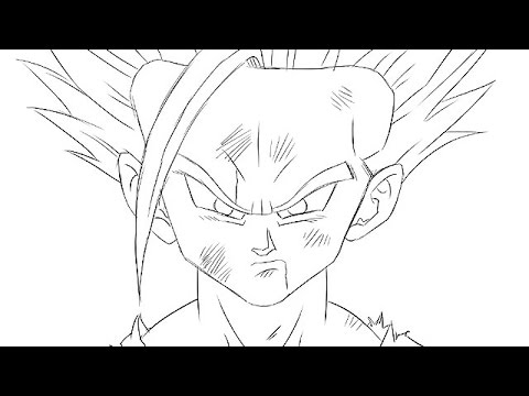 Aprende a dibujar a Son Gohan Dragon Ball Z en 5 minutos  YouTube