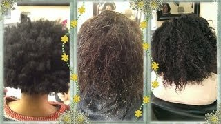 First Steps To GOING NATURAL WTHOUT DOING THE BIG CHOP!