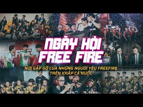NƠI GẶP GỠ CỦA NHỮNG NGƯỜI YÊU FREE FIRE TRÊN KHẮP CẢ NƯỚC   NHÌN LẠI NGÀY HỘI FREE FIRE