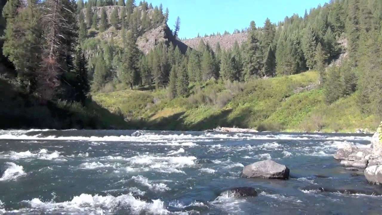 Lower Mesa Falls Kayak  Idaho Fishing Snake River  YouTube
