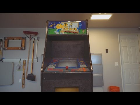 Jr Pacman Arcade Game Restoration, Part 1