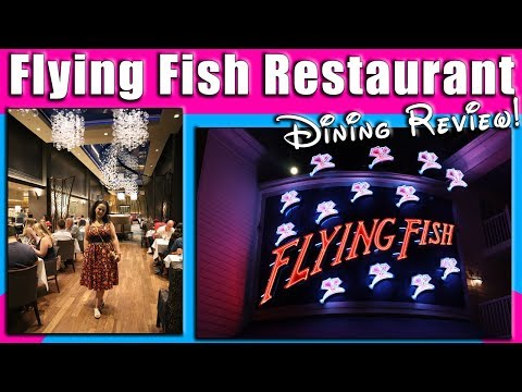 Flying Fish Restaurant Dining Review | Disney's Boardwalk Resort | Wagyu Filet