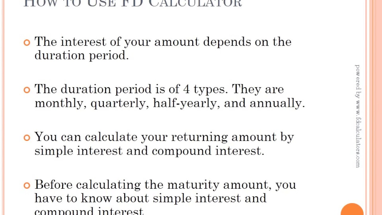 How to calculate recurring deposit maturity amount in excel