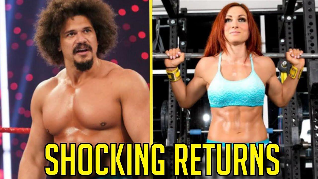 7 SHOCKING RETURNS We Can SEE AT WrestleMania Backlash!