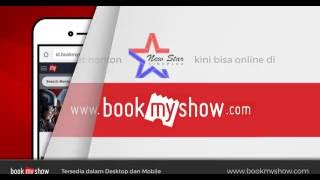 Video Cara Beli Tiket Online New Star Cineplex di BookMyShow Indonesia download MP3, 3GP, MP4, WEBM, AVI, FLV Februari 2018