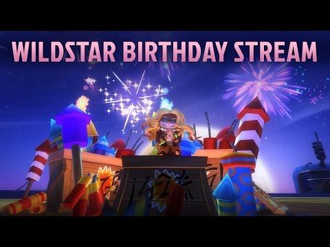WildStar's 2nd Anniversary Birthday Stream!